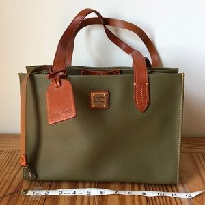 Dooney & Bourke Pebbled Leather small tote